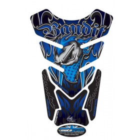 Protection de réservoir MOTOGRAFIX Street Style 4pcs bleu Suzuki Bandit