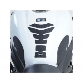 Protection de réservoir modulable R&G RACING noir (3 pièces)