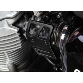 Platine de protection de boitier d'injection LSL Clubman noir Kawasaki W800
