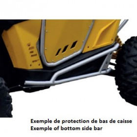 Protection de bas de caisse CROSS-PRO Polaris RZR 1000 XP