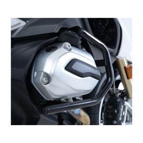 Protections latérales R&G RACING noir BMW R1200RT