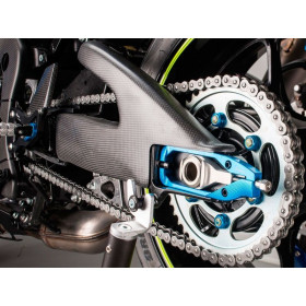 Carter de bras oscillant LIGHTECH carbone brillant Suzuki GSX-R1000