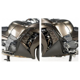 Protection latérales R&G RACING noir Kawasaki GTR1400
