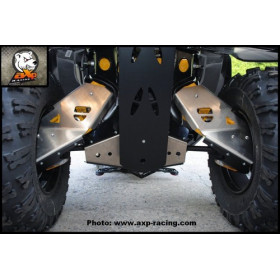 Protection de triangle arrière AXP alu 6mm Can-Am