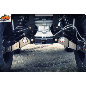 Protection de triangle arrière AXP alu 4mm Polaris Sportsman