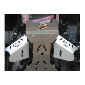 Protection de triangle avant AXP alu 4mm Suzuki