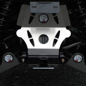 Protection de triangle arrière AXP alu 2,5mm Polaris Sportsman