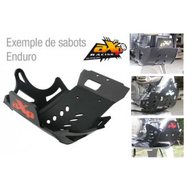 Sabot enduro AXP PHD 6mm noir Gas Gas