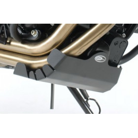 Semelle R&G RACING aluminium noir Triumph