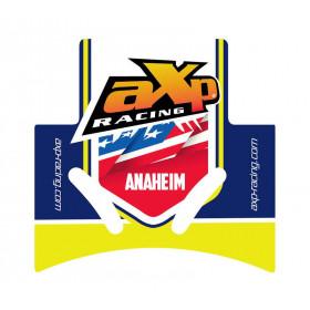Semelle MX AXP Anaheim PHD noir/déco bleu-jaune Husqvarna FC450
