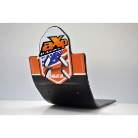 Semelle MX AXP Anaheim PHD noir/déco orange KTM 250/350 SX-F