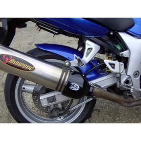 Protection de silencieux ovale gauche R&G RACING noir