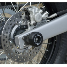 Protection de bras oscillant R&G RACING noir Husqvarna TE125 4T