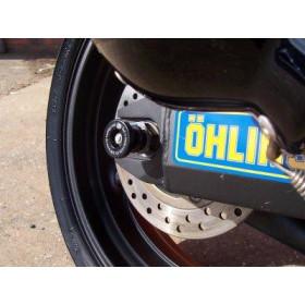 Protection de bras oscillant R&G RACING noir Honda CBR600F4/FS/FI