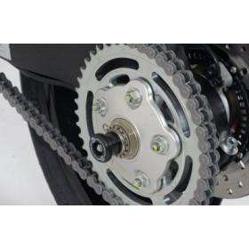 Protection de bras oscillant R&G RACING noir Ducati Hypermotard 821