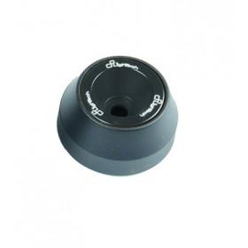 Protections fourche et bras oscillant (axe de roue) LIGHTECH noir Kawasaki Z800 - ARKA106NER