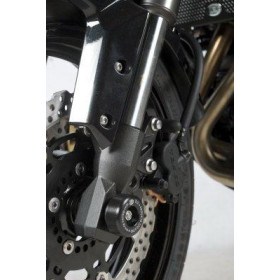 Protection de fourche R&G RACING noir Kawasaki Versys 650