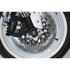 Protection de fourche R&G RACING noir Suzuki GSX-R600/750/1000