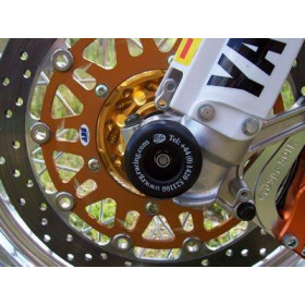 Protection de fourche R&G RACING noir Yamaha