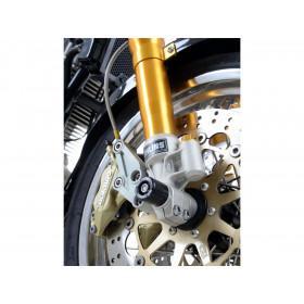 Protections de fourche R&G RACING noir Norton Commando 961 Sport