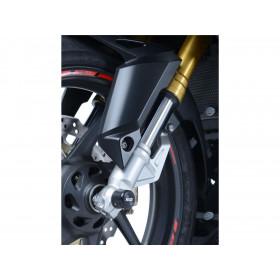 Protection de fourche R&G RACING noir Honda CBR250RR