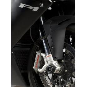 Protection de fourche R&G RACING noir MV Agusta F4 1000R/RR