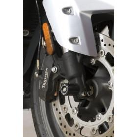 Protection de fourche R&G RACING noir Triumph Trophy SE/1200/1215SE