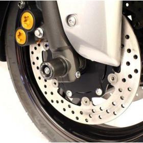 Protection de fourche R&G RACING noir Yamaha T-Max 500/530