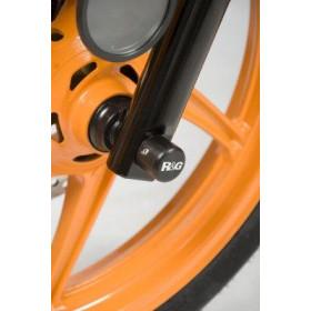 Protection de fourche R&G RACING noir Honda CBR250R/300R