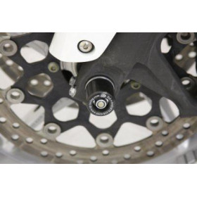 Protection de fourche R&G RACING noir Honda VFR1200FD/F/F Bagagerie