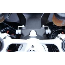 Protections de butée de direction R&G RACING noir Ducati 899/1199/1299 PANIGALE