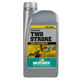 Huile moteur MOTOREX 2 temps semi-synthétique 1L