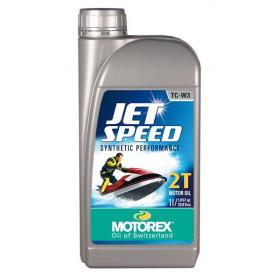 Huile moteur MOTOREX Jet Speed 2T synthétique performance 1L