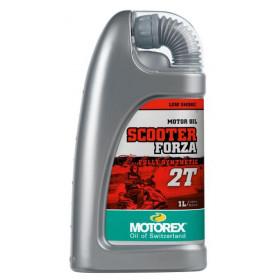 Huile moteur MOTOREX Scooter Forza 2T synthétique 1L