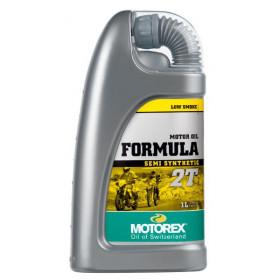 Huile moteur MOTOREX Formula 2T semi-synthétique 1L