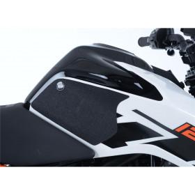 Kit grip de réservoir R&G RACING translucide (2 pièces) KTM Duke 125