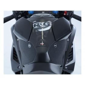 Kit grip de réservoir R&G RACING translucide (2 pièces) Honda CBR250RR