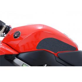 Kit grip de réservoir R&G RACING translucide (2 pièces) Honda VFR800