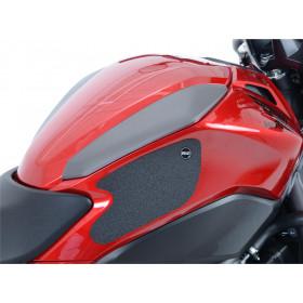 Kit grip de réservoir R&G RACING translucide 2 pièces Honda
