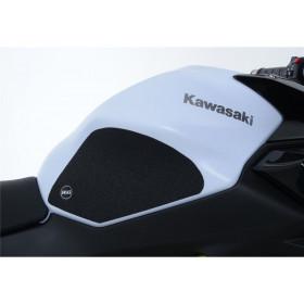 Kit grip de réservoir R&G RACING noir (4 pièces) Kawasaki Z650