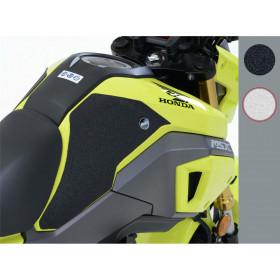 Kit grip de réservoir R&G RACING 2 pièces translucide Honda MSX125