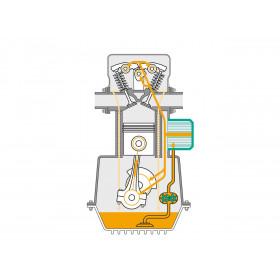 Huile moteur MOTOREX Evotec SAE 20W50 1L