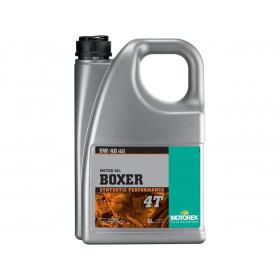 Huile moteur MOTOREX Boxer 4T 5W40 synthétique 4L