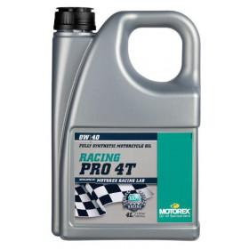 Huile moteur MOTOREX Racing Pro 4T 0W40 synthétique 4L