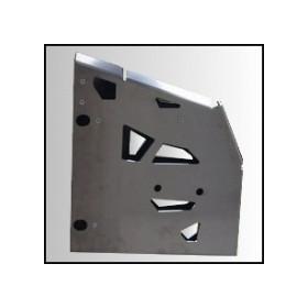 Protection de marche pied AXP alu 4mm Polaris Sportsman