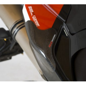 Sliders de coque arrière R&G RACING carbone Ducati