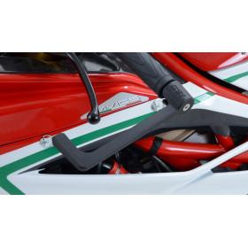 Protection de levier de frein R&G RACING noir Yamaha T-Max 530