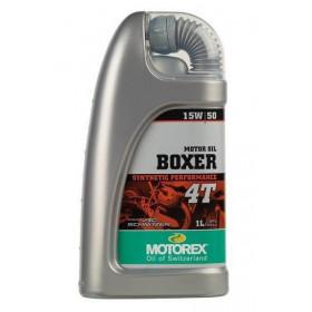 Huile moteur MOTOREX Boxer 4T 15W50 synthétique 1L