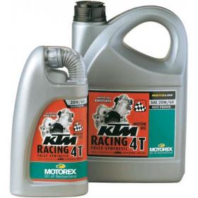 Huile moteur MOTOREX KTM Racing 4T 20W60 synthétique 4L