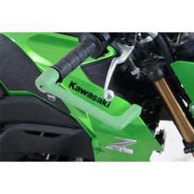 Protection de levier de frein R&G RACING vert Kawasaki Ninja H2 SX
